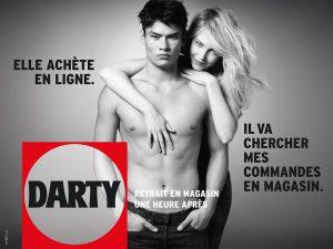 2013, changement de posionnement pour darty avec une nouvelle campagne publicitaire print